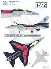 "Syhart Decals 1/72 F-16A FALCON FA-50 ""Three Fifty's Fifty"" Belgian Air Force"
