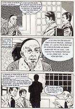 LA LOUVE WEEKEND A PEKIN  (RENAUD) PLANCHE ORIGINALE AREDIT PAGE 130