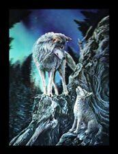 3D Bild mit Wölfen - Guidance by Lisa Parker - Wolf Western Deko Druck Poster