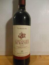 Chevalier De Rhodes 2003 Rouge - Une Bouteille De Vin Grec