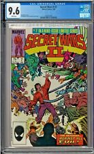 Secret Wars II #7 CGC 9.6 White Pages The Beyonder Avengers Jim Shooter story