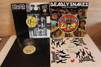 "4 RAP HIP HOP Lot Vinyl 12""  Records LPs AKINYELE, Angel, House of Pain, Deadly"