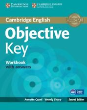 Objective Key Workbook with Answers, Sharp, Wendy, Capel, Annette, Very Good con