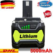 18V For Ryobi P108 One Plus Lithium High Capacity Battery P104 P107 P102 5.0Ah