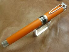 INVICTA SEA HUNTER MAKO ROLLER BALL PEN ORANGE/SILVER TRIM  NEW IN BOX