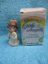 "Heaven's Little Angels A ""Growing"" Keepsake Tradition Age 2 Porcelain Figurine"