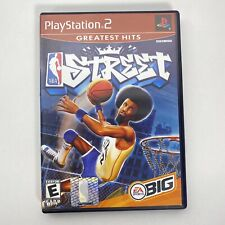 NBA Street Sony PlayStation 2 PS2 Complete W/ Manual