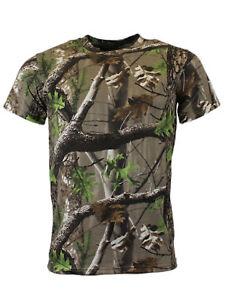 Game Trek Camouflage T Shirt   Hunting Fishing Camo Top