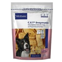 CET Enzymatic Oral Hygiene Chews for Large Dogs 26-50 Pounds 30ct