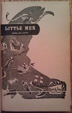 "Louisa M. Alcott's ""Little Men"" Little Women hardback sequel w/ Jo's boys"