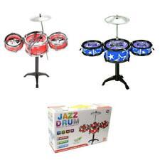 More details for childrens drum kit jazz drum set big band musical fun for children kids toy