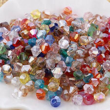 #5301 jewelry 3mm Glass Crystal Bicone bead 10000pcs Mixed color New