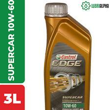 Olio Motore Castrol EDGE SUPERCAR 10W60 TITANIUM FST 3 Litri