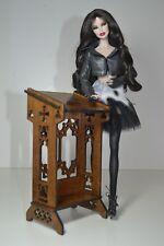 Tribune platform GOTHIC catholic for Barbie FR FR2 furniture 1:6 1/6 OOAK V2