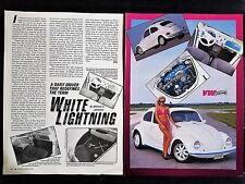 1971 Volkswagon VW Beatle Bug - 2 Page Original Article - Free Shipping