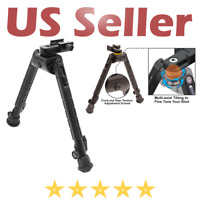 "Rifle Tactical Heavy Duty Recon 360 Bipod Center Height Adjustable 8.12""-11.97"""