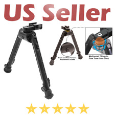 """Rifle Tactical Heavy Duty Recon 360 Bipod Center Height Adjustable 8.12""""-11.97"""""""
