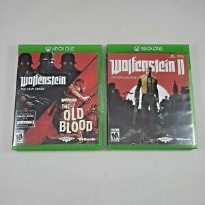 Xbox One Wolfenstein Bundle 3 Games The New Order & The Old Blood, Wolfenstein 2