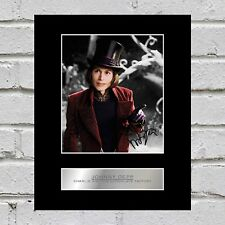 Johnny Depp Signed Mounted Photo Display Captain Jack Sparrow
