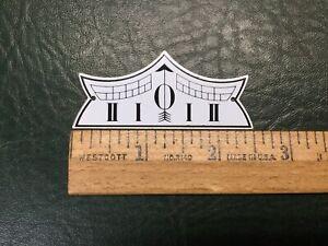 (1) NOS Reproduction of Regulator Clock Pendulum Metal Beat Scale