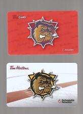 TIM HORTON'S GIFT CARDS     BULLDOGS