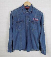 Vintage Pepe Jeans Denim Light Blue Jean Jacket Women's Size Medium