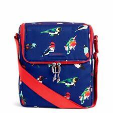 VERA BRADLEY Stay Cooler Tote MINI TODY BIRDS BLUE Lunch Bag Beach Pool $48 NEW