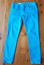 GAP Bright Aqua Always Skinny 1969 Stretch Jeans Size 28/6r