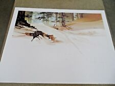 """Michael Atkinson """"DAYBREAK"""" S/N Print in Mint condition with COA 22"""" X 30"""""""