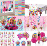 Barbie Sparkle Girls Birthday Party Supplies Decoration Favors Tableware Swirls