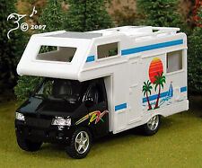 Die Cast Camper Van Recreational Vehicle O Scale 1:43 by Kinsmart