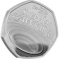 2019 STEPHEN HAWKING 2019 Silver Proof 50p Pence Coin sold out in 60 mins!!!