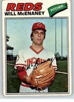 1977 Topps #160 Will McEananey M1C337