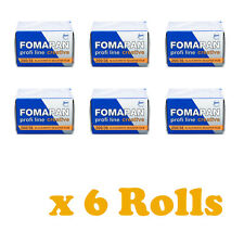 6 Rolls x FOMAPAN 200 Profi Line Creative Black & White Film 35mm 36exp by FOMA