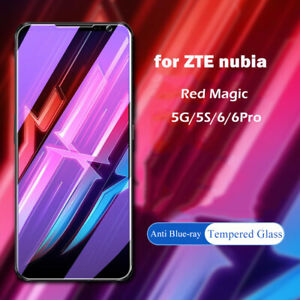 2PCS Red Magic 6 6S 6R 5G 5S 3S Mars Anti Blue Tempered Glass Screen Protectors