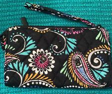Vera Bradley Front Zip Wristlet Bandana Swirl New With Tags