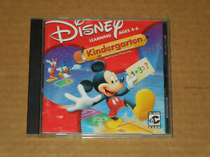 Disney Mickey Mouse Kindergarten - PC GAME - Learning Ages 4-6 (CD-ROM, 2000)