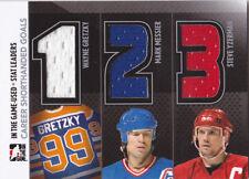 2013-14 ITG Used Wayne Gretzky/Mark Messier/Steve Yzerman Triple Jersey /60
