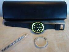 Montres De Luxe Milano Men's Super Avio Stainless Watch Mineral Antireflex Glass