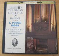 HANDEL - Organ Concertos 13-16 POER BIGGS BOULT COLUMBIA m2s 611 6eye 2LP box EX