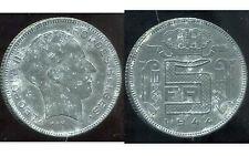 BELGIQUE 5 francs 1944  zinc   ( des belges  )