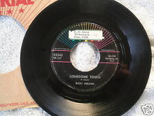 1958 Ricky Nelson Imperial Records X5545 Lonesome Town 45 RPM VG