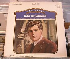 LP JOHN McCORMACK--THE GREAT JOHN McCORMACK SINGS..5 LP BOXED SET ON MURRAY HILL
