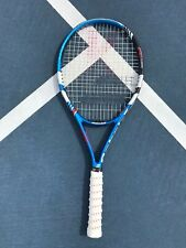 New listing Babolat Tennis Racquet Contact Team 9.7 Oz Fused Graphite With New Grip Tape