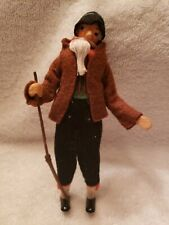 """Vintage Old Man 6"""" Doll Antique Beautiful Face Collectable Toy Rare Baps"""
