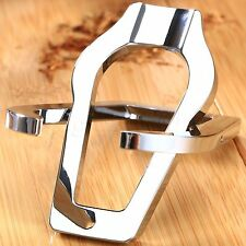 Portable Foldable Cigar Tobacco Smoking Pipe Rack Stand Holder Stainless Steel
