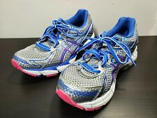 ASICS GT-1000 Silver Blue Pink Running Shoes T3R5N WOMENS Size SZ 7