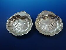 """Pair of Sterling Silver Dishes 5"""" in Shell Design  (#1236)"""