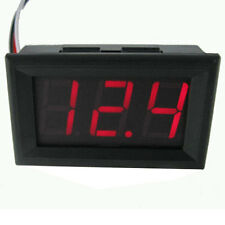 AU New Red Mini Digital DC 4.5V-30V LED Voltmeter Voltage Volt Panel Meter Gauge