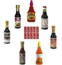 8tlg. sauces Set soja huîtres Sriracha dipp-Set sushiset Chili du Tamarin hoisin